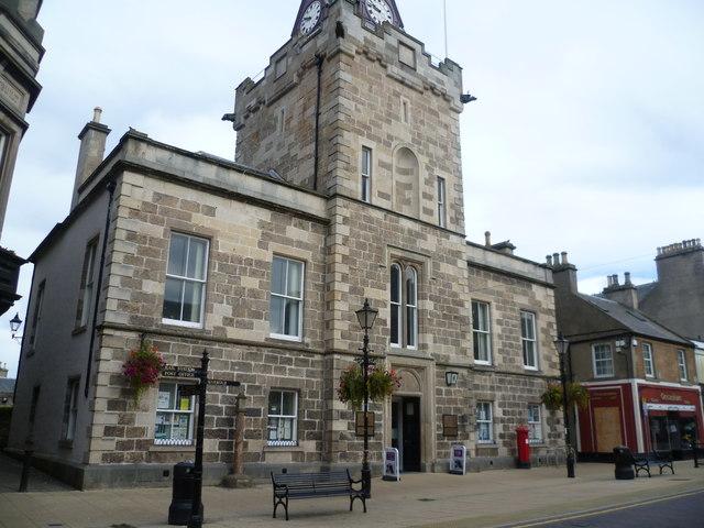 Nairn Town Hall, High Street