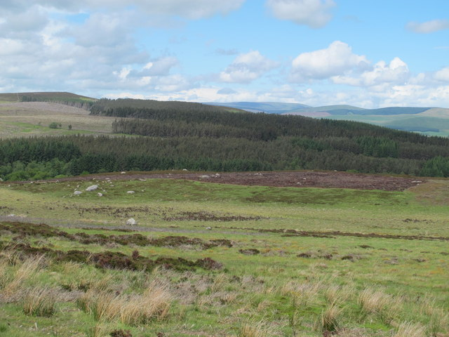Moorland east of Black Hill