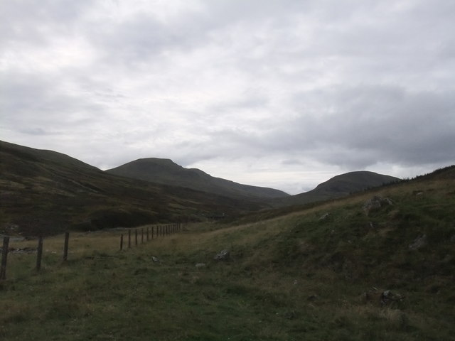 Moorland, Grassland, rocks