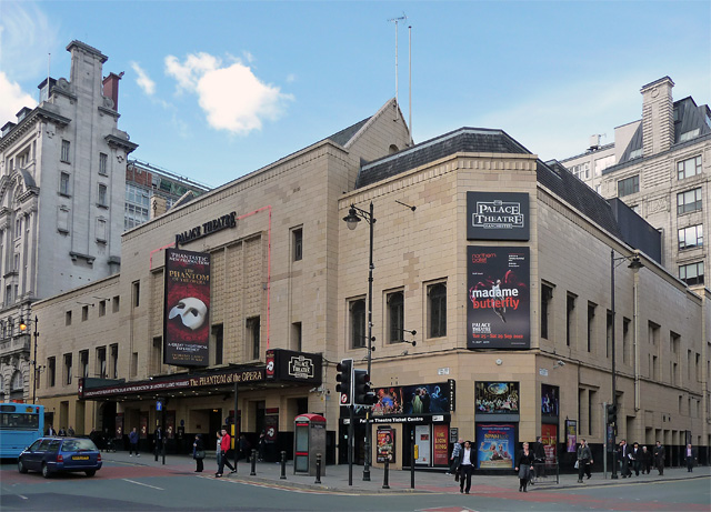 Palace Theatre, Oxford Street, Manchester