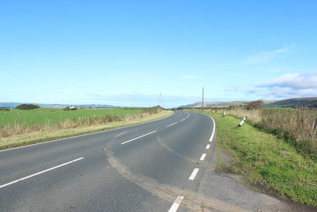 A751 leading to the A77 Towards Cairnryan