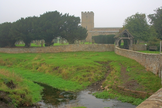 Mary Wild Beck and Stanwick Church