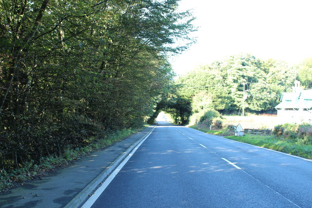 A75 to Stranraer near Castle Kennedy