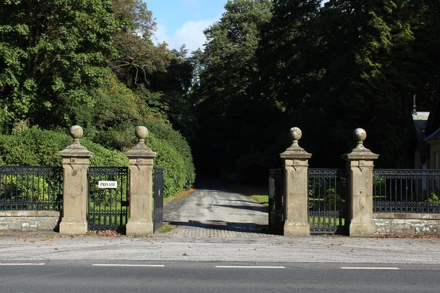 Gateway to Lochinch Castle