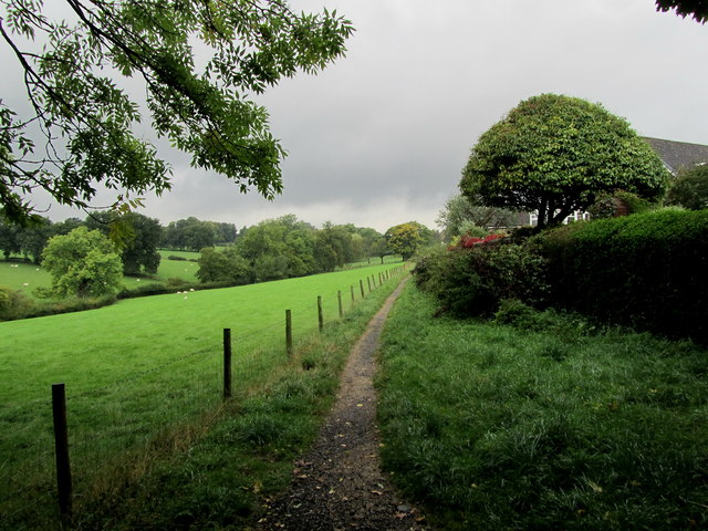 Footpath to Leadhall Lane