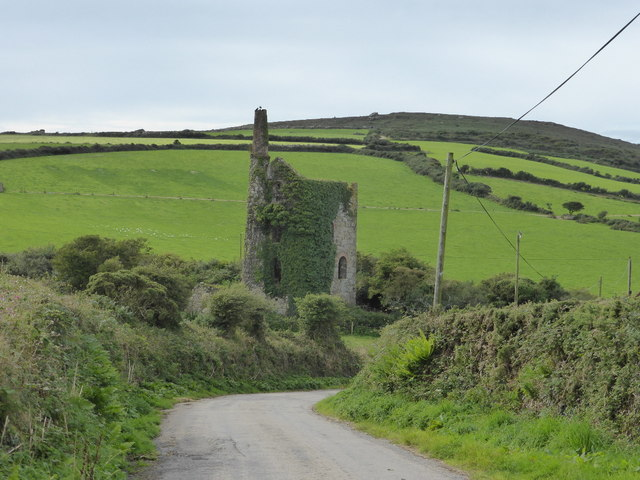 Wheal Sisters engine house