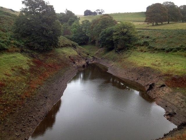 Inlet on eastern side of Fernilee Reservoir