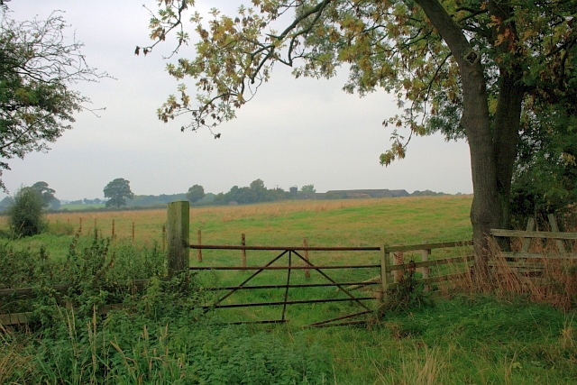 Public Bridleway near Long Leases