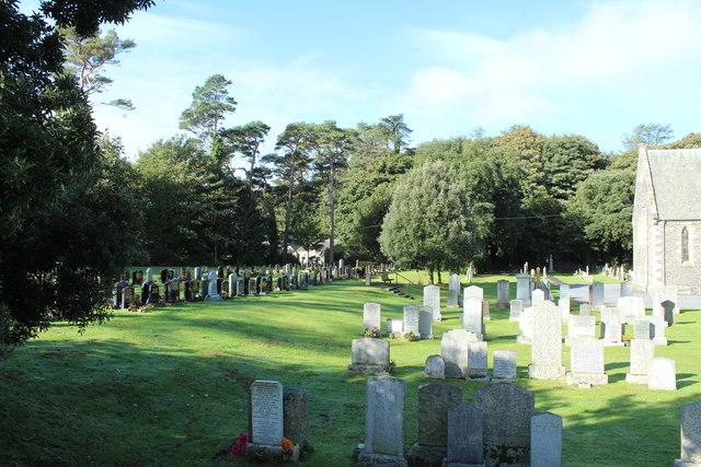Inch Parish Church Cemetery