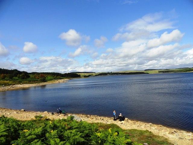 View over the Derwent Reservoir