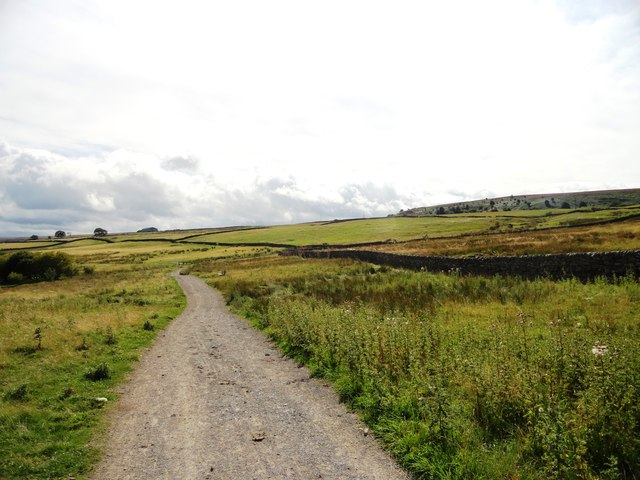 Path alongside Derwent Reservoir