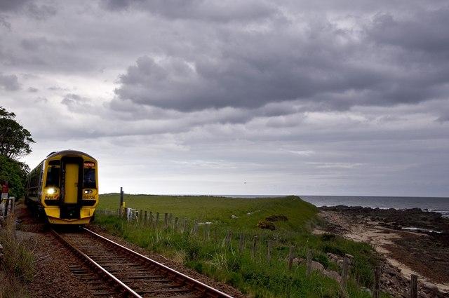 Railway at Kintradwell