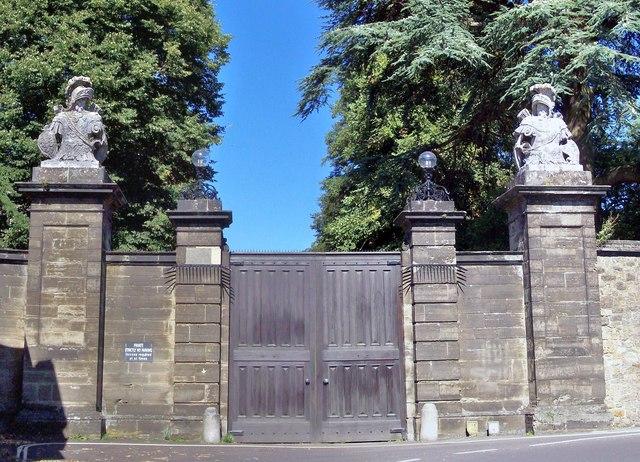 Petworth House, Main Gates