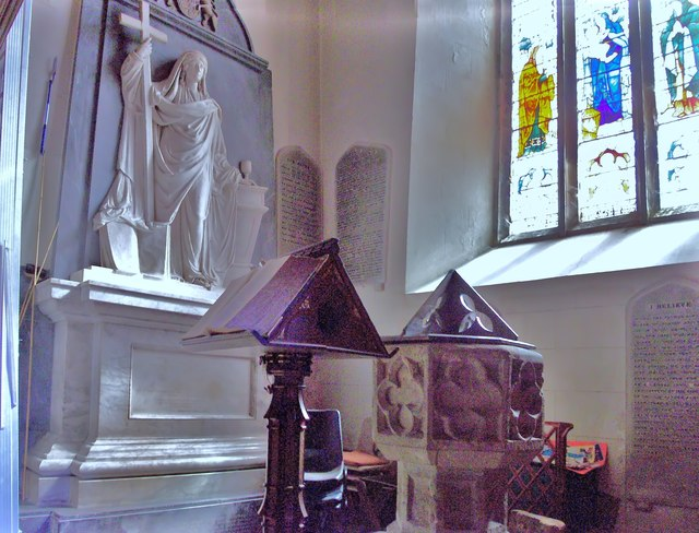 The Font of St Mary's Church, Petworth