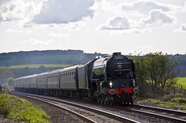Railway near Onibury