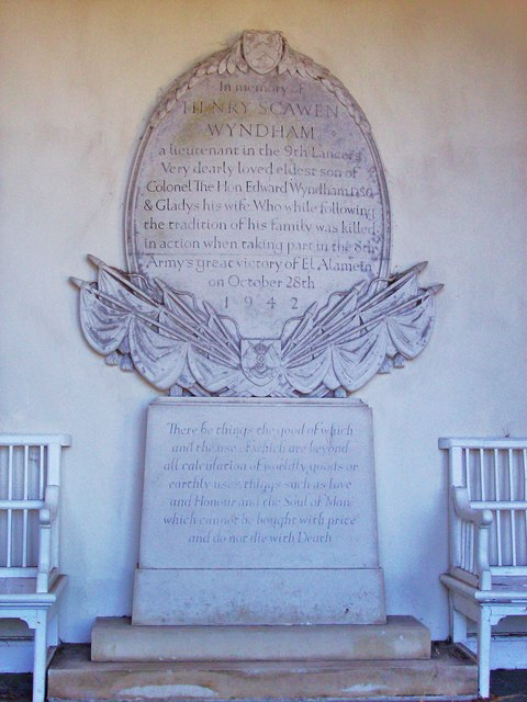 Memorial, Petworth House