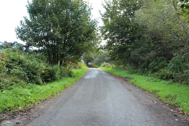 Old Military Road near Two Mile Howe