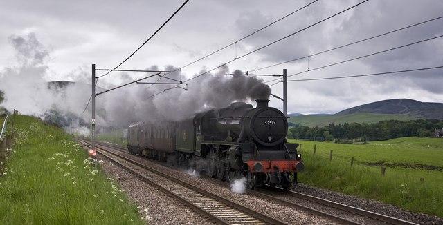 Steam near Abington
