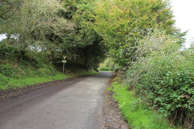 Old Military Road leading to Stranraer