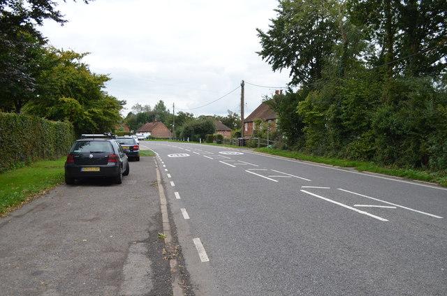 A267 towards Mark Cross