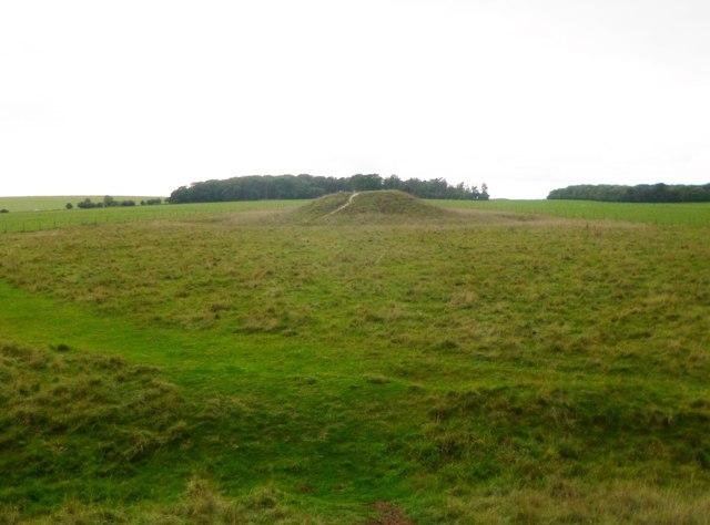 Stonehenge Down, bell barrow