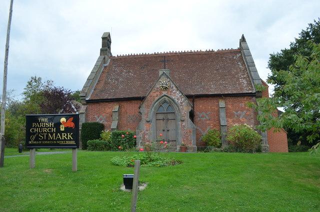 St Mark's church, Marks Cross