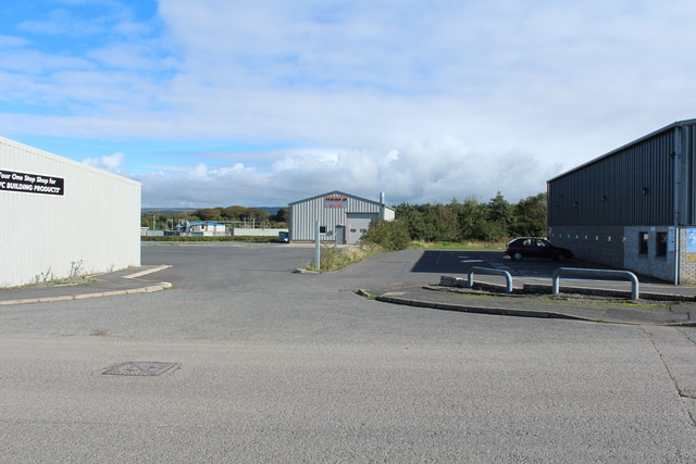 Blackparks Industrial Estate from Fountain Way