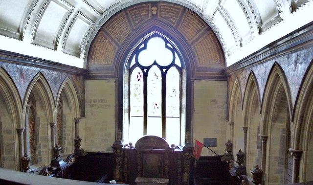 Petworth House, Chapel Window