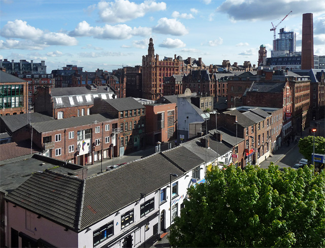 View from Bloom Street, Manchester (1)