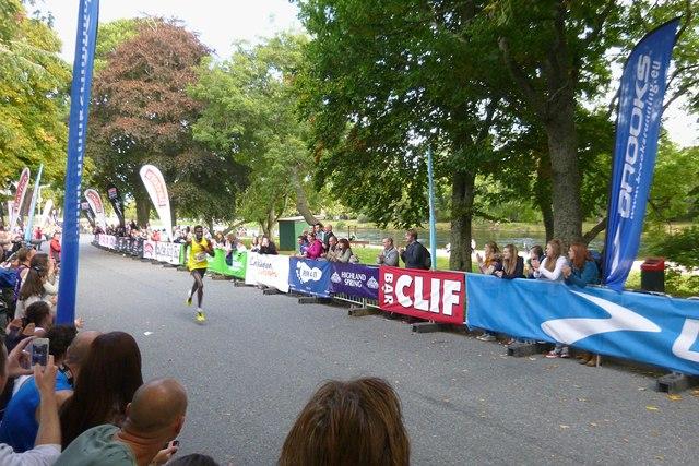 Winning the Loch Ness Marathon