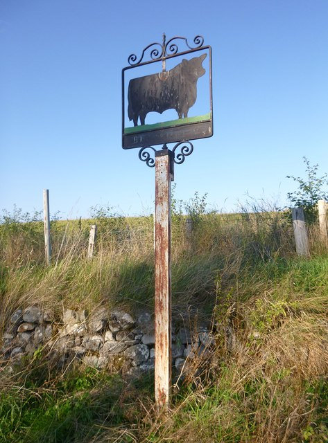 Old sign, Megstone