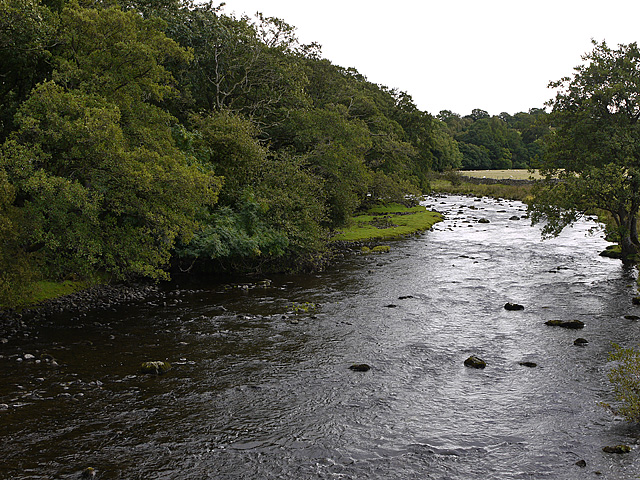 The River Lowther above Rosgill bridge