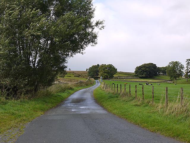 Back road to Bampton