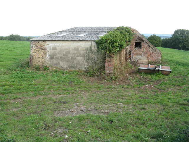 Old barn near Bullo