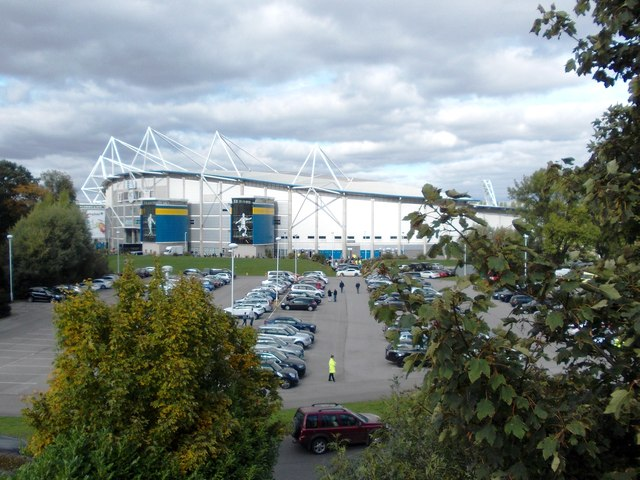 The KC Stadium from Anlaby Road fly-over