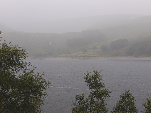 A murky scene over Haweswater