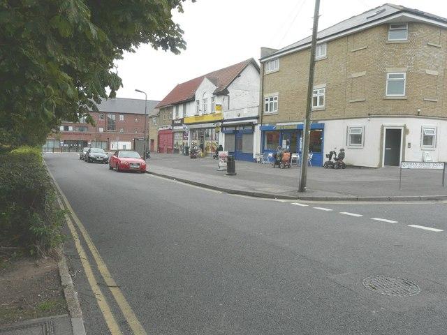 Shops along Market Place