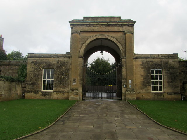 Rudding Park Gates