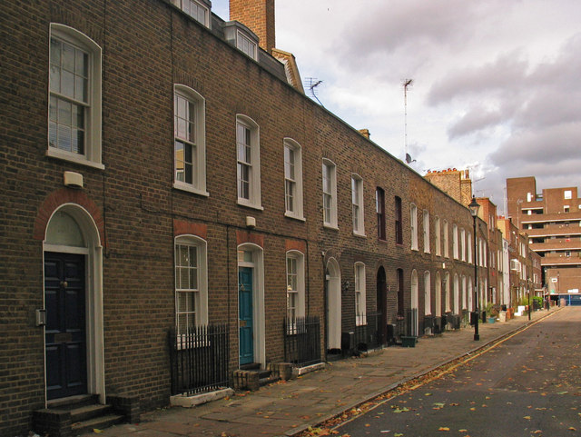 Terraced houses, Wynyatt Street