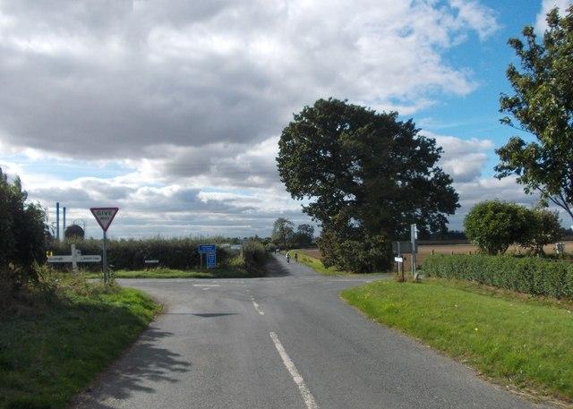 View to Norfolk Bank Lane, Ellerker