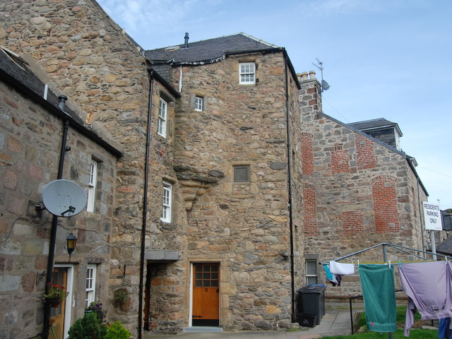 20-22 Don Street, Old Aberdeen (the rear courtyard)