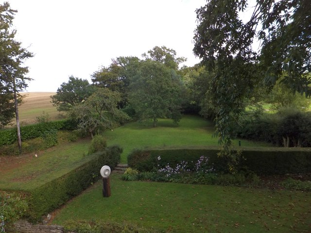 The garden at High Cross House