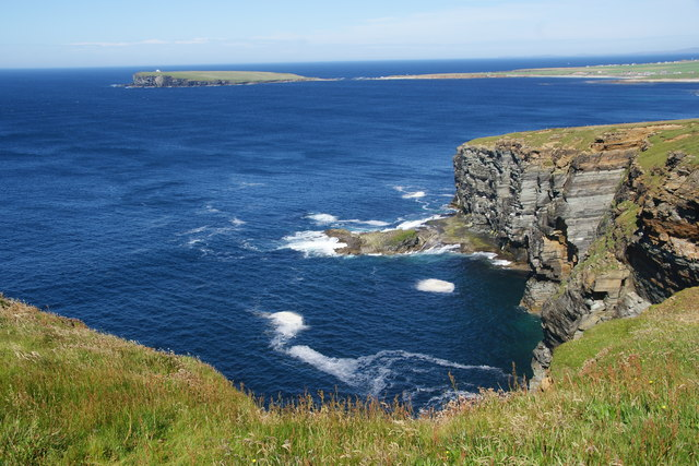 The northern end of Marwick Head