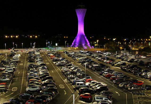 Edinburgh Airport car park