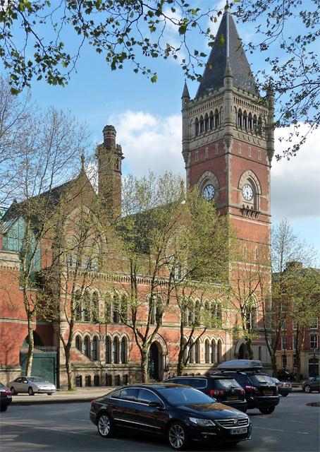 Crown Court, Minshull Street, Manchester