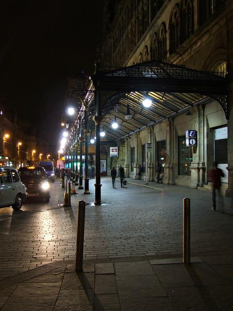 Glasgow Central railway station  porte-cochère