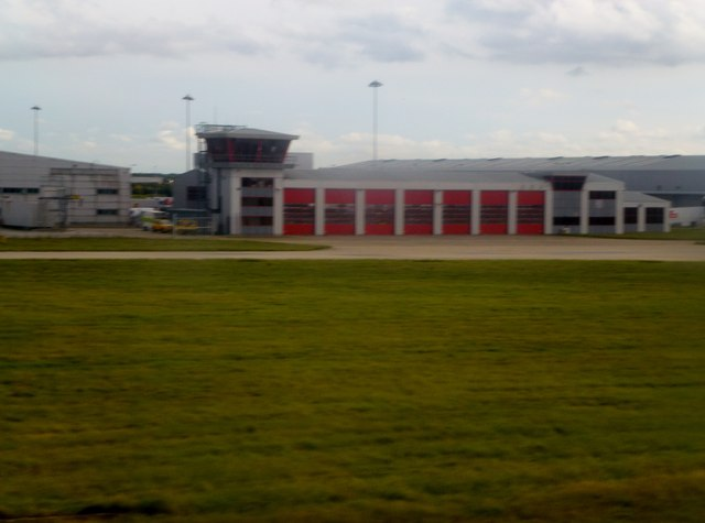 Fire station at Stansted Airport