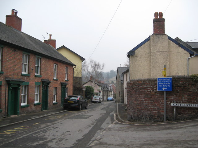 Now in the days of the horseless carriage 1-Bishops Castle, Shropshire