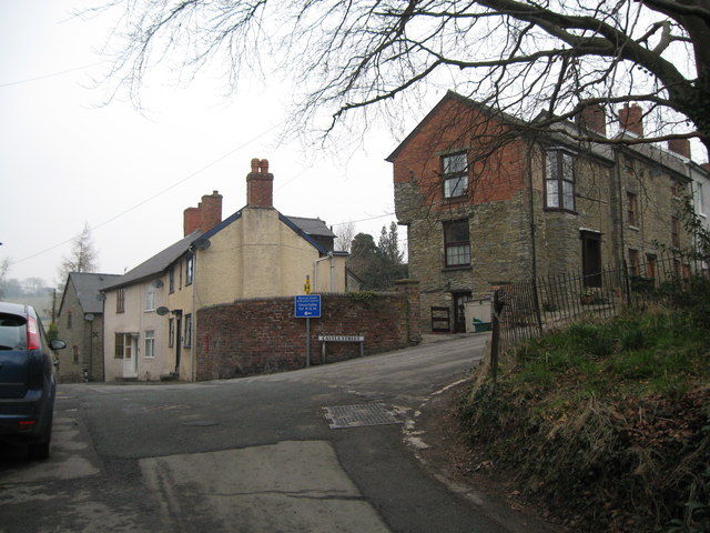 Now in the days of the horseless carriage 2-Bishops Castle, Shropshire