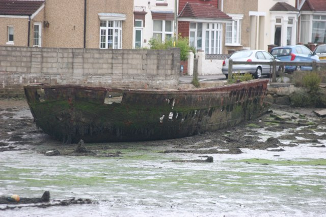 Metal Barge, looking South-West
